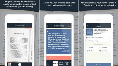 Photo of تطبيق Quotle لإنشاء اقتباسات من الكتب على أجهزة آيفون