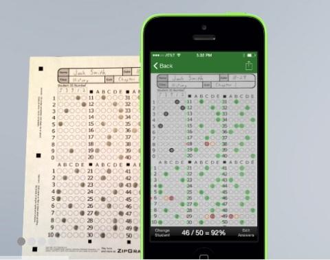 Photo of تطبيق لتصحيح أوراق الإجابة المؤتمتة