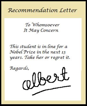 Photo of رسالة التوصية Recommendation Letter
