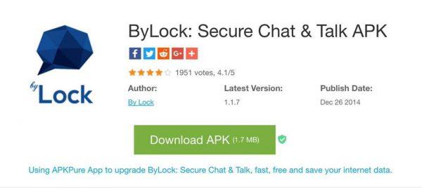 Photo of تطبيق ByLock الذي استخدمه الانقلابيون كان سبب فشل الانقلاب