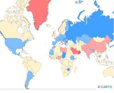 Photo of نسبة الذكور إلى الإناث في دول العالم