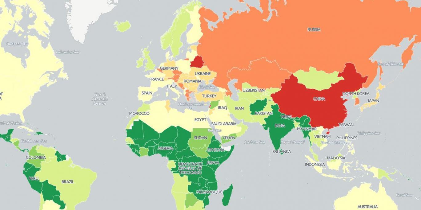 Photo of معدل استهلاك الفرد للسجائر سنوياً لكل بلد