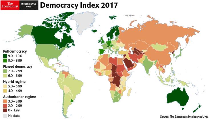 Photo of مؤشّر الديمقراطية 2018