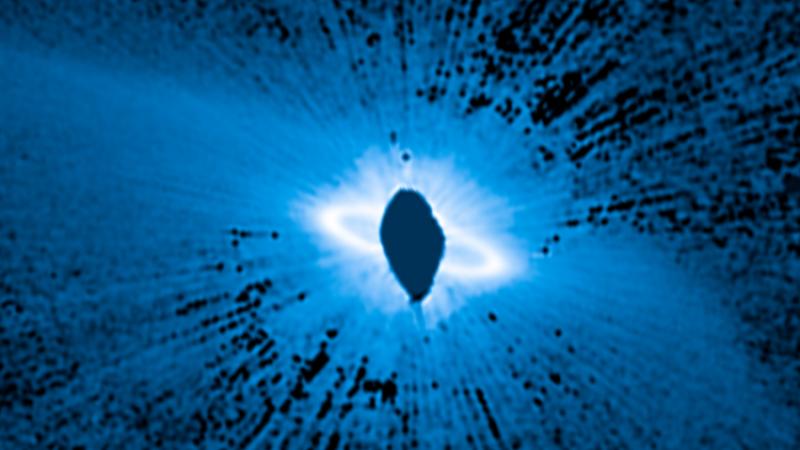 Photo of تلسكوب هابل يرصد مجموعة شمسية جديدة في طور التكوين