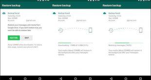Change to WhatsApp Backups in Google Drive