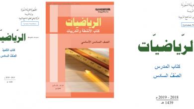 Photo of كتاب الرياضيات الصف السادس السوري