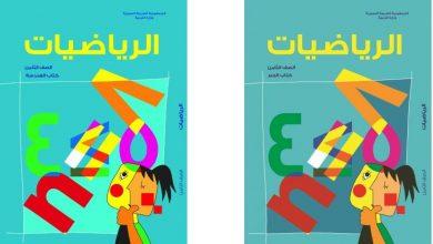Photo of كتاب الرياضيات للصف الثامن السوري 2018