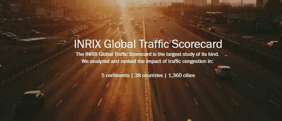 مؤشر الازدحام المروري العالمي