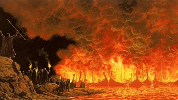 سليمان بن عبد الملك يغرّم طارق بن زياد بثمن السفن التي أحرقها على شواطئ الأندلس