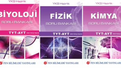 Photo of كتب وأسئلة دورات لامتحانات الفيزياء والكيمياء والعلوم التركية YOS LYS YKS AYT TYT