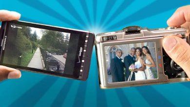 camera vs phone