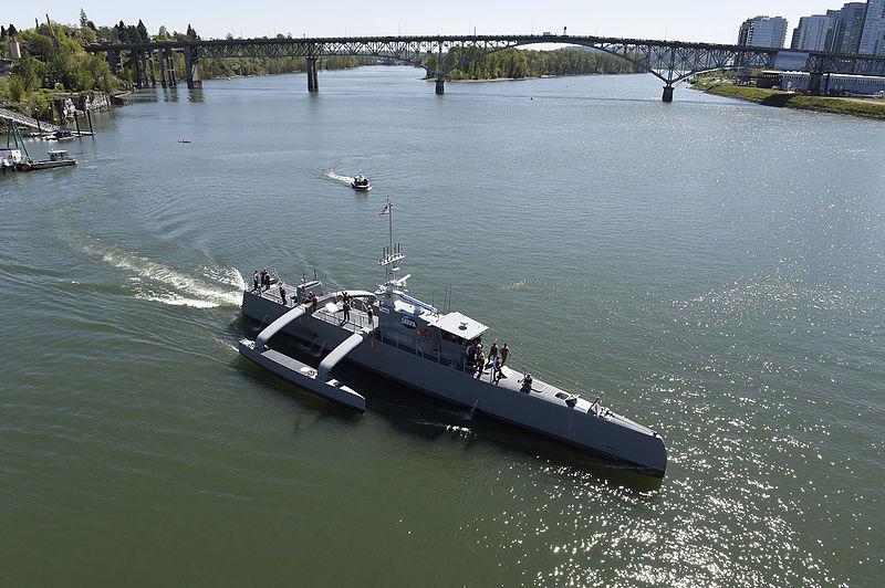 قناص الغواصات ذاتي التحكم (Sea Hunter) – المصدر ويكيميديا
