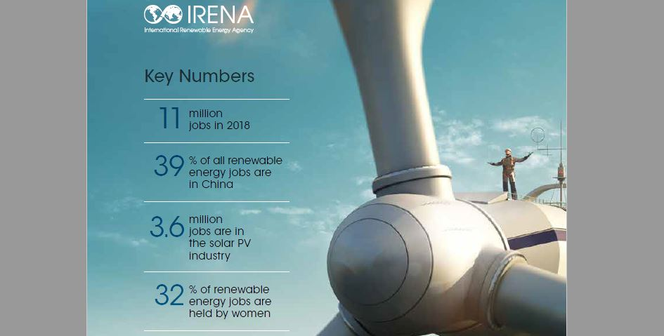 العاملون في الطاقة المتجددة 2018