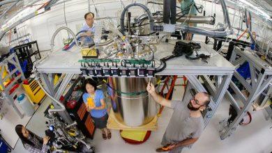 Google's quantum computer حاسوب جوجل الكمي سيكامور Credit: Erik Lucero