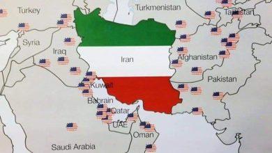 القواعد الأمريكية حول إيران