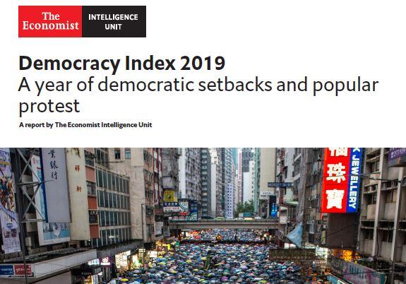 مؤشر الديمقراطية العالمي 2020