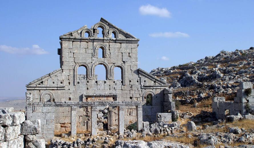 كفر نبو شمال سوريا المدن المنسية Copyright:©François Cristofoli
